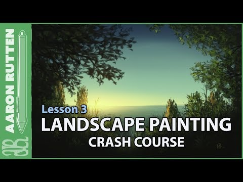 Seaside Bluff – Landscape Painting Crash Course (Lesson 3)