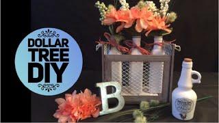 DIY Dollar Tree Farmhouse Crate