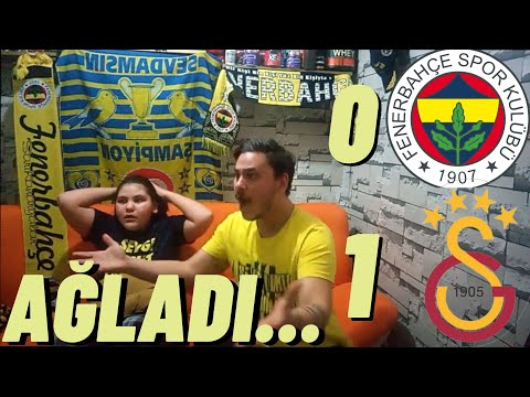 FANATİK FENERBAHÇELİLER GALATASARAY DERBİSİNİ İZLERSE..| Fenerbahçe 0-1 Galatasaray | Maça Tepki