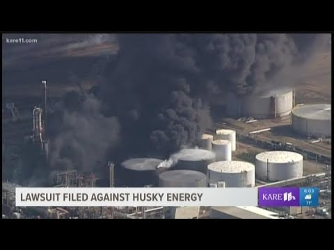 Lawsuit Filed Against Husky Energy, Superior Refining