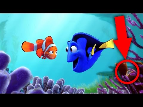 50 Pixar Easter Eggs Including Finding Dory