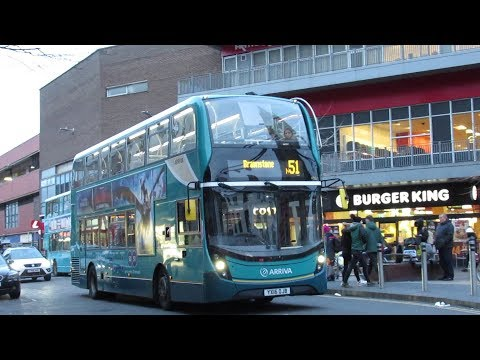 Buses & Trains In Leicester February 2019
