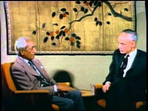 J. Krishnamurti - Claremont 1968 - Conversation with Huston Smith - Authority is destructive