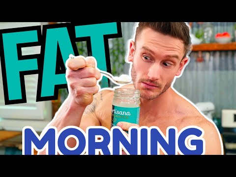 You Need to Eat MORE FAT in the Morning (You Store Less as Body Fat)