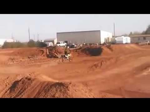 A few Laps around arenasport mx in Lubbock Texas
