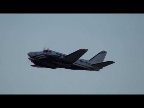 Pascan Aviation Beech B100 King Air (C-FODC) Takeoff 24L CYUL Montreal