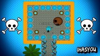 SECRET LAVA BASE IN THE OCEAN!! Doomed2.io Best Base Ever Build Guide & Insane Defence Gameplay!