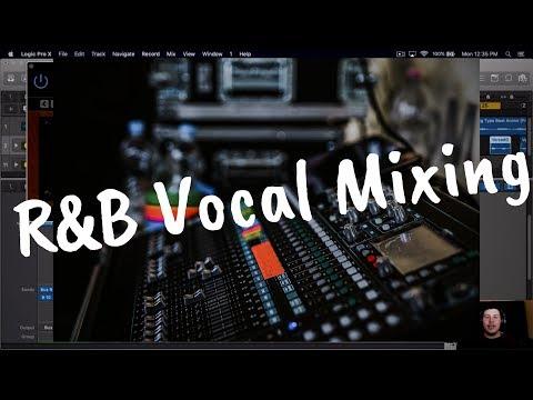 In Depth R&B, Pop Vocal Mixing (Logic Pro X)