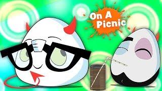 Devil eggz on a piknik sarjakuva | Deviled Eggz On A Picnic | Kids Tv Suomi | Finnish Lasten Lauluja