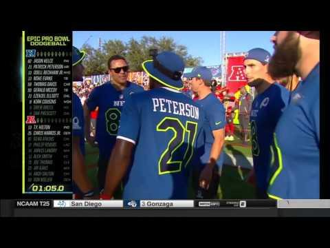 Dodgeball  Pro Bowl Skills Showdown  2017