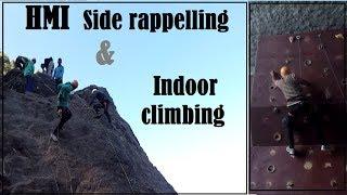 HMI Side rappelling & Indoor climbing   Episode No 3   Basic 329   Darjeeling  Sandeep Yadav  