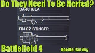An Honest Case For Nerfing The Stinger and Igla Missile