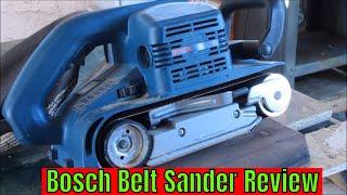 Bosch Belt Sander Review