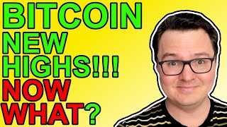 Bitcoin SMASHES New Highs!!! What Now?