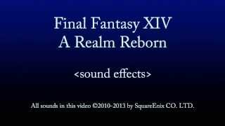 FFXIV ARR Party Sound Effects