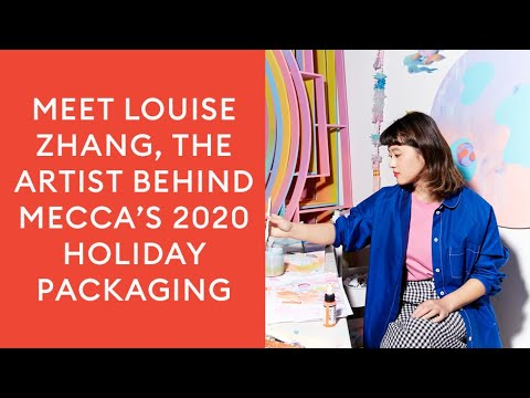 Meet Louise Zhang, the artist behind MECCA's 2020 Holiday Packaging