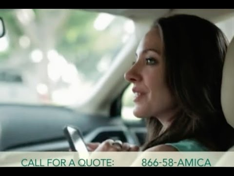 Amica Insurance Quote Fair Amica Insurance Commercial  Youtube