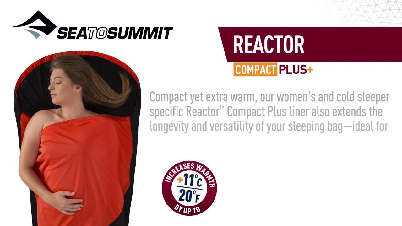 color rojo S/ábana para saco de dormir talla 90 x 210 cm Sea To Summit Thermolite Reactor Extreme