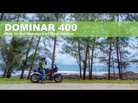Dominar 400 Real Quezon Ride