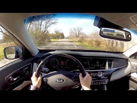 2015 Kia K900 WR TV POV Test Drive