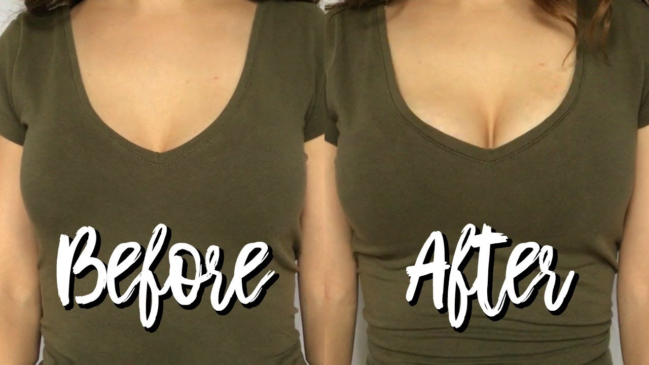 Amazing Bra Hack Every Girl Should Know  How To Make Your -3798