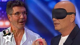 Mind Magician Gets Simon to Possess Howie on AGT! | Magicians Got Talent