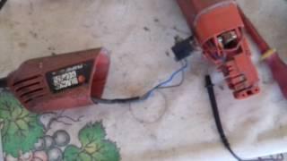 LM assistencia tecnica consertando esmerilhadeira Blackdecker