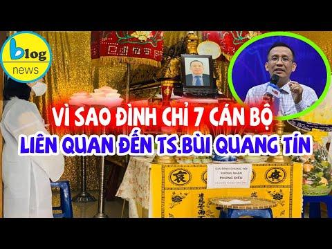 TS Bùi Quang Tín tử vong: đình chỉ 7 cán bộ liên quan