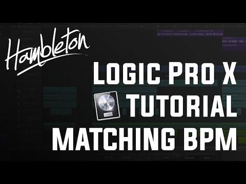 Matching BPM in Logic Pro X [1080p Tutorial]