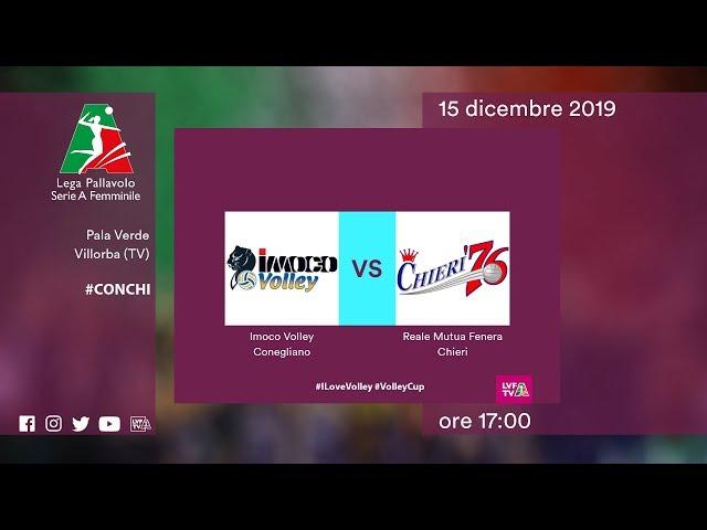 Conegliano - Chieri | Speciale | 11^ Giornata | Lega Volley Femminile 2019/20