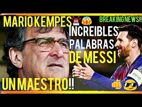 ¡¡EXCLUSIVA!! ¡MARIO KEMPES ELOGIA A MESSI y AL BARÇA!! ¡ÚLTIMA HORA! FCB NOTICIAS