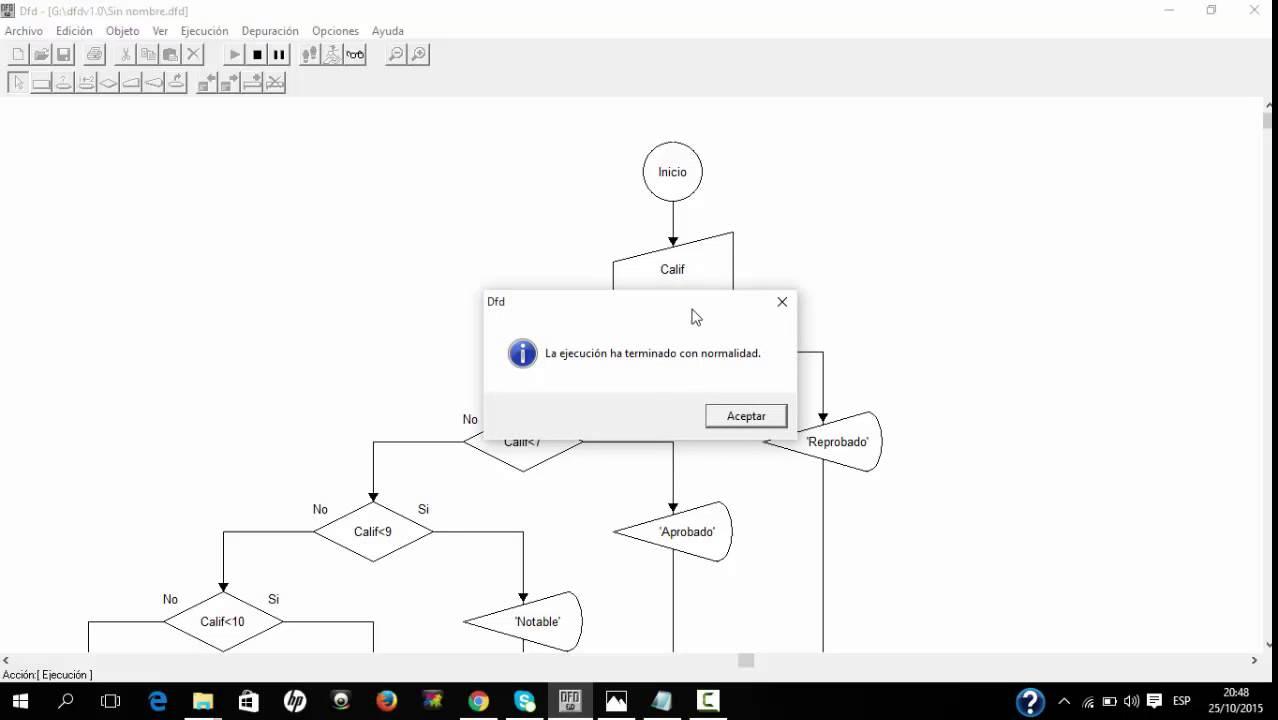 Diagrama de flujo y pseudocodigo ejemplo youtube ccuart Gallery