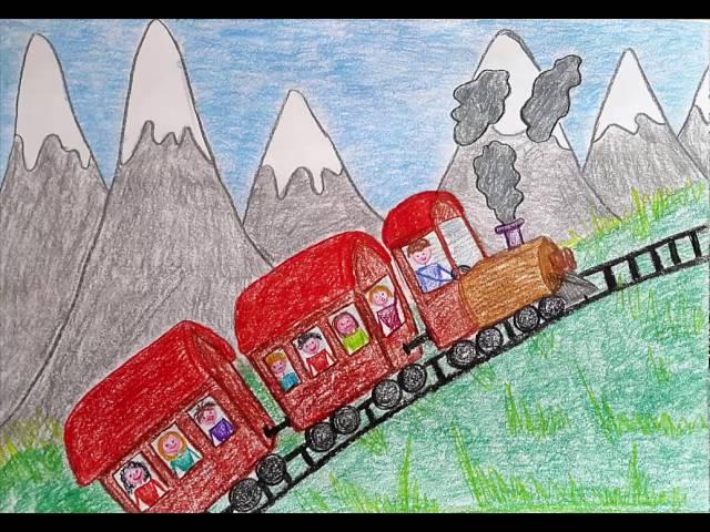 Traveling in Switzerland by train