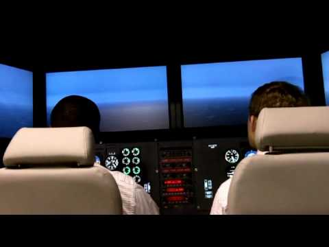 New Auburn Flight Simulator