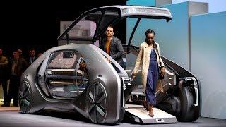 Такси Renault EZ-GO и электрокроссовер Porsche на автосалоне в Женеве
