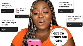 24 THINGS YOU DIDN'T KNOW ABOUT ME - YOU ASKED! I ANSWERED!! | CHANTEL ANYANWU