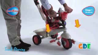 Велосипед трехколесный Smart trike dream(Уникальный детский трехколесный велосипед Smart trike dream который растет с Вашим ребенком. Купить ВЫ можете..., 2013-05-17T10:11:51.000Z)