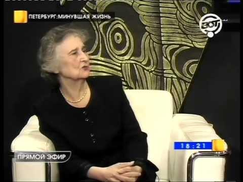 """Н.А.Нарышкина в пограмме """"Петербург: Минувшая жизнь"""""""
