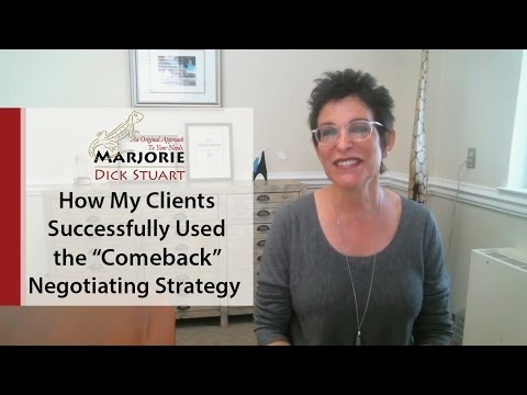 """Cleveland Park Real Estate: Using the """"Comeback"""" Negotiating Strategy to Get Your Home"""