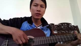 Phía Sau Ánh Mắt Buồn - Guitar