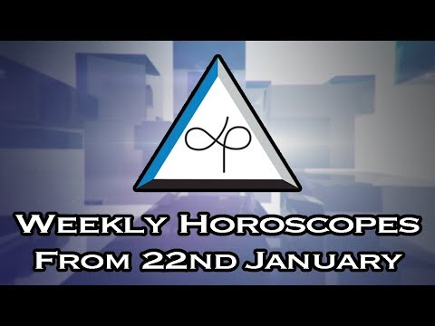 Weekly Horoscope - Weekly Horoscopes From 22nd January 2018