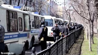 Масштабные учения МВД РФ в центре Саратова(, 2014-04-16T09:44:59.000Z)