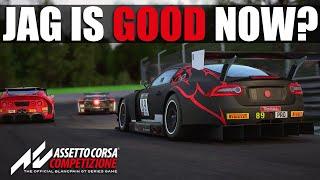 The Jag is GOOD now? - Assetto Corsa Competizione - 1hr Monza Multi-Class