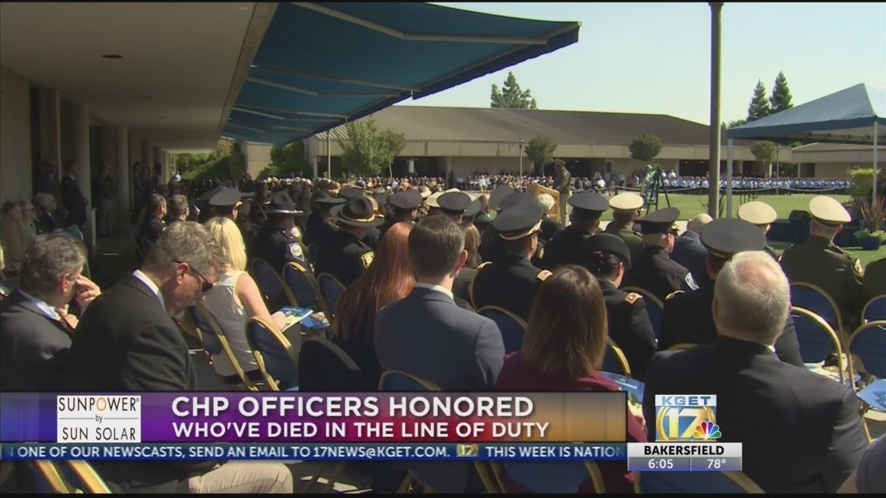 CHP officers killed in the line of duty honored in Sacramento