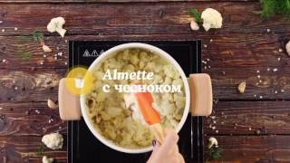 Крем-суп из цветной капусты с Almette