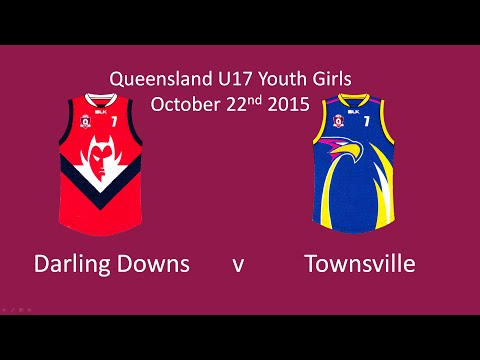 AFL Youth Girls Darling Downs v Townsville