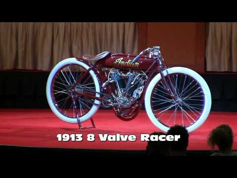 1913 8 Valve Indian at 2010 Las Vegas Antique Motorcycle Auction