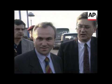 Bosnia/Serbia - UN Peacekeepers Released