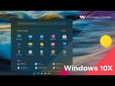 Windows 10X - Official Release Demo