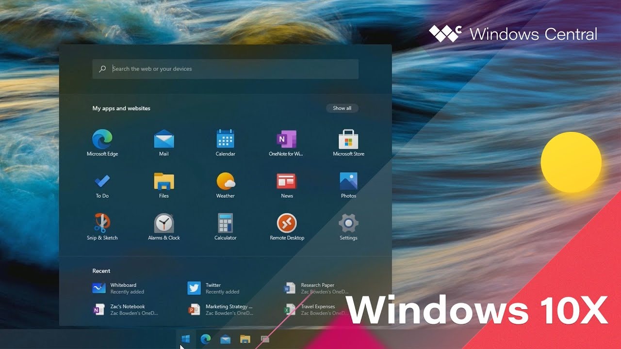 Windows 10X | Official Release Demo